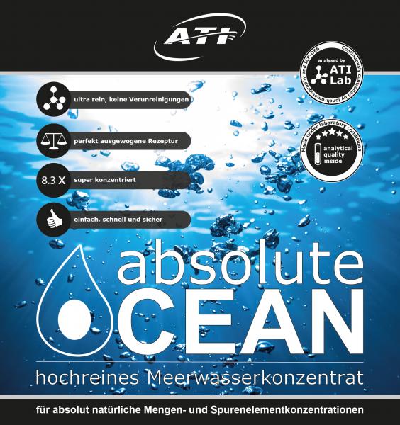 Absolut Ocean 2 x 1,02 Liter (Für 14 L)