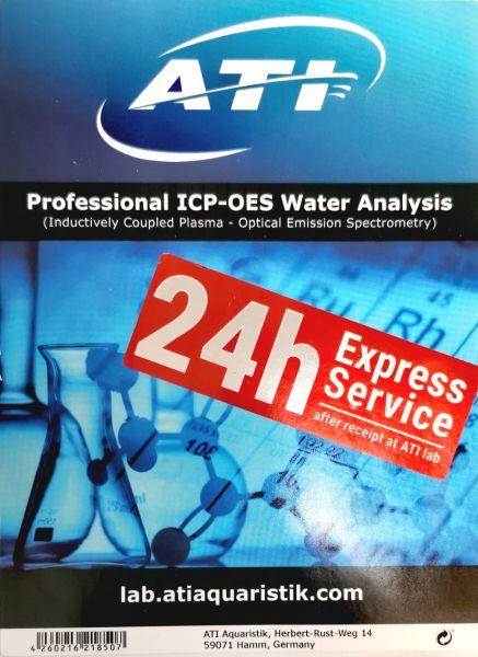 ICP-OES Wasseranalyse *Aktion 24h