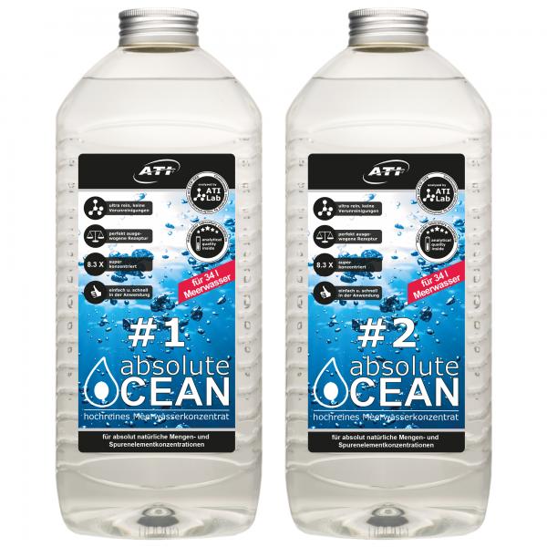 Absolut Ocean 2 x 2,04 Liter (Für 34 L)