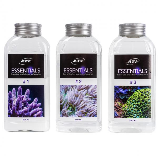 Essentials Set 3 x 500 ml